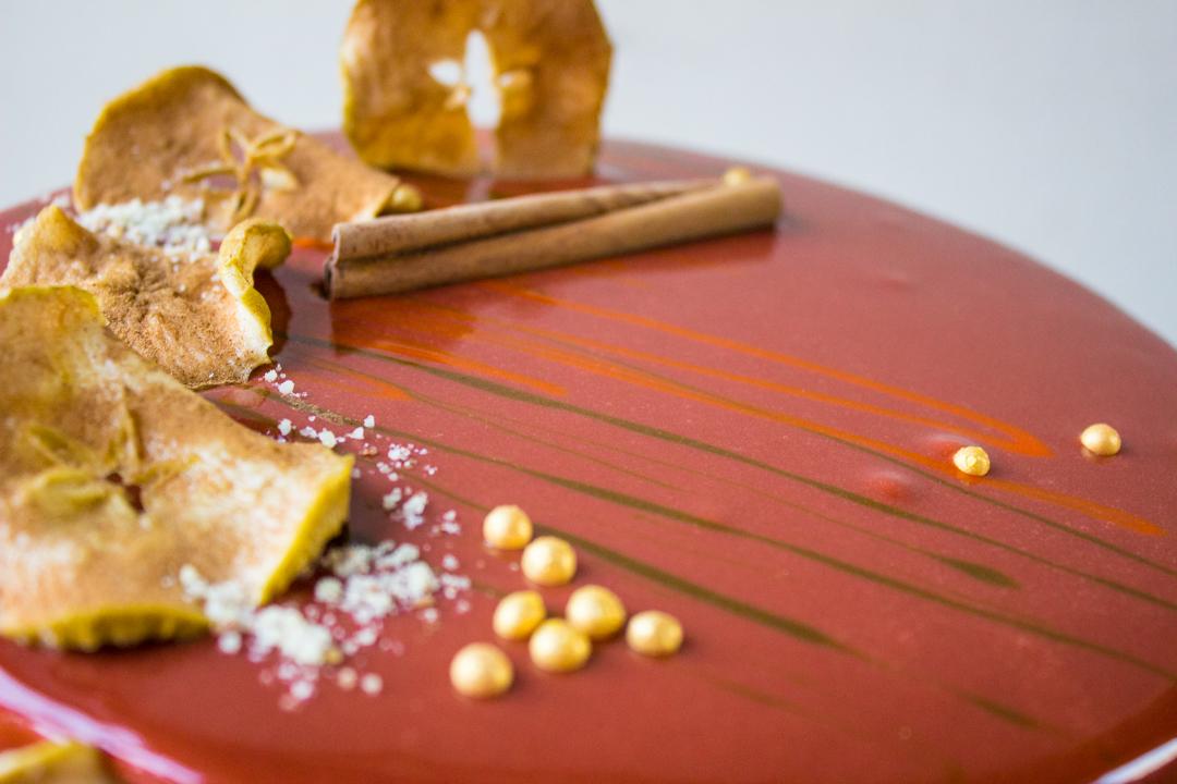 Торт в осеннем стиле