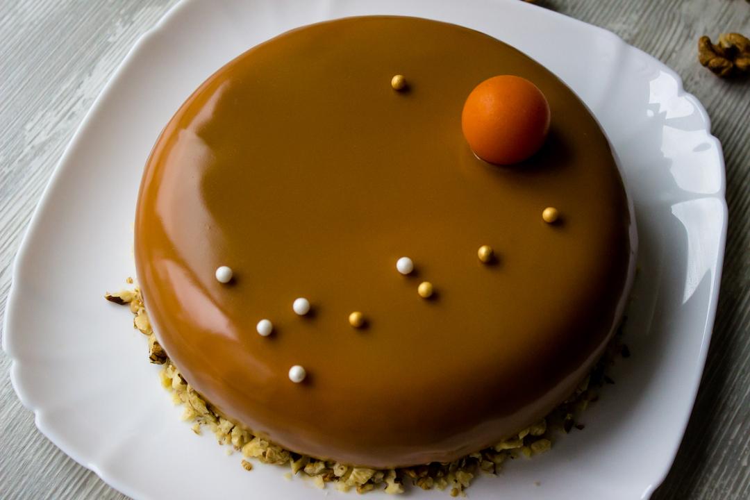 Современный десерт - торт из тыквы