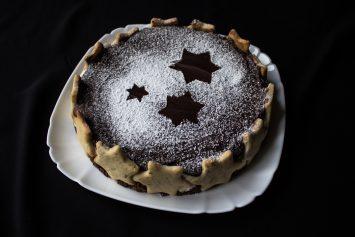 Рождественский торт пошаговый рецепт с фото