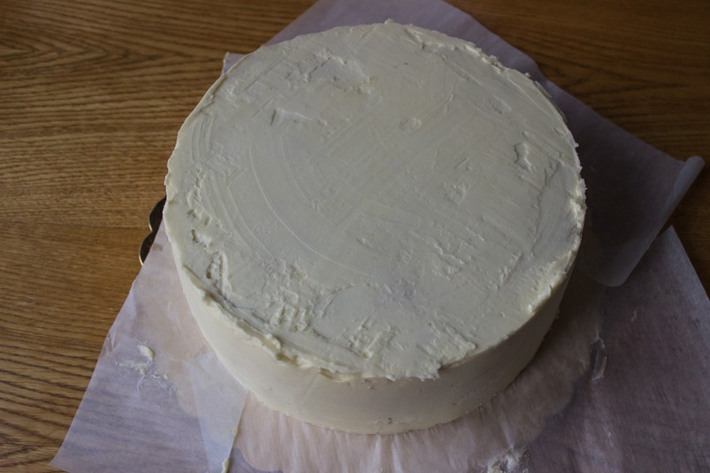 Как обтянуть торт мастикой