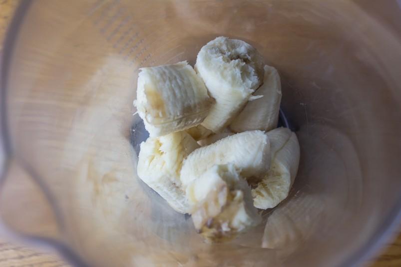 Банановые кексы с карамелью