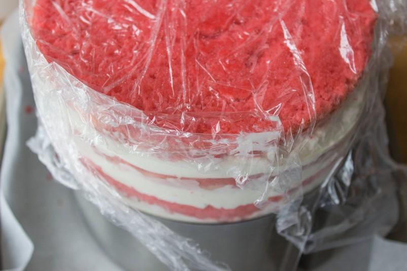 Торт в стиле «Омбре»