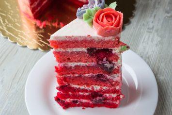 Торт в стиле - Омбре