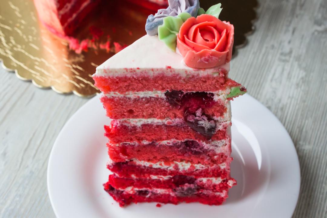 Простой вкусный бисквитный торт рецепт с фото