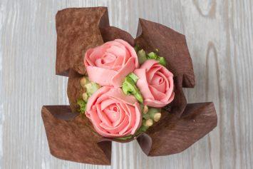 Как сделать розы из крема