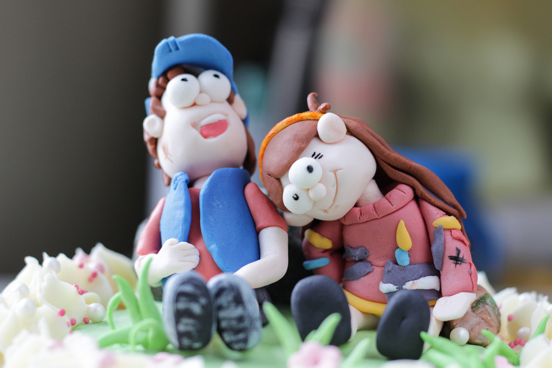 Gravity Falls фигурки из мастики