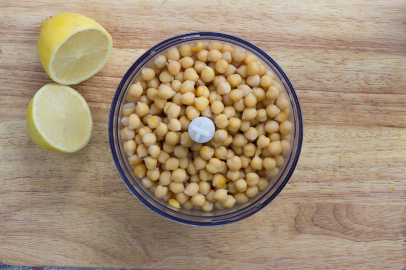 Домашний хумус