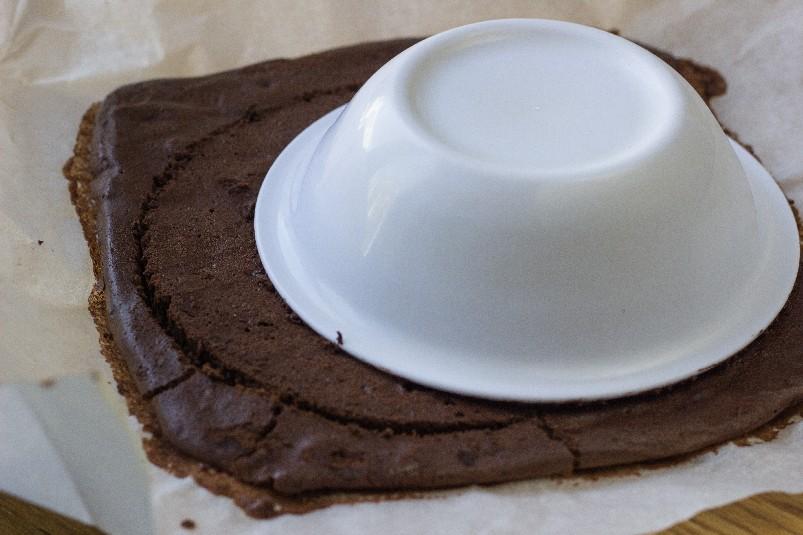 Торт-мусс «Слива в шоколаде»