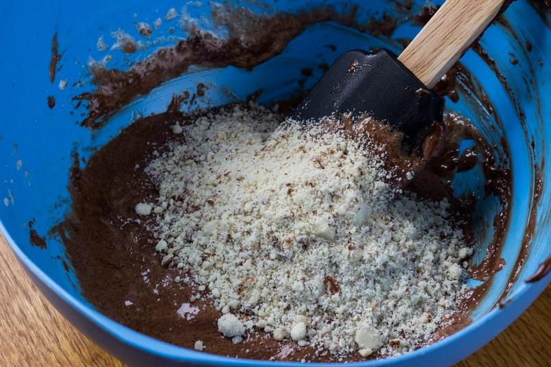 Мятный торт с лаймом и шоколадом