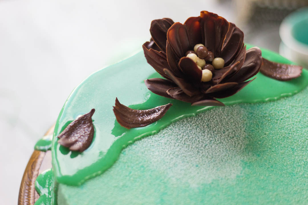 Мятный торт