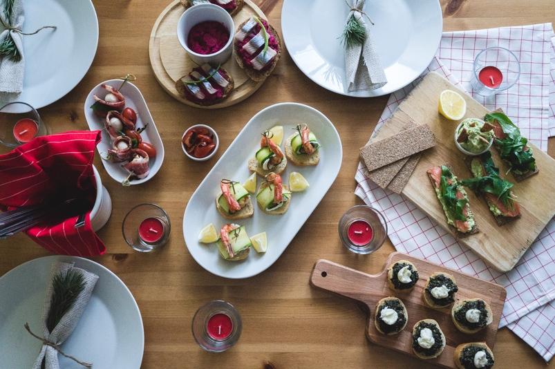 Необычные закуски на праздничный стол