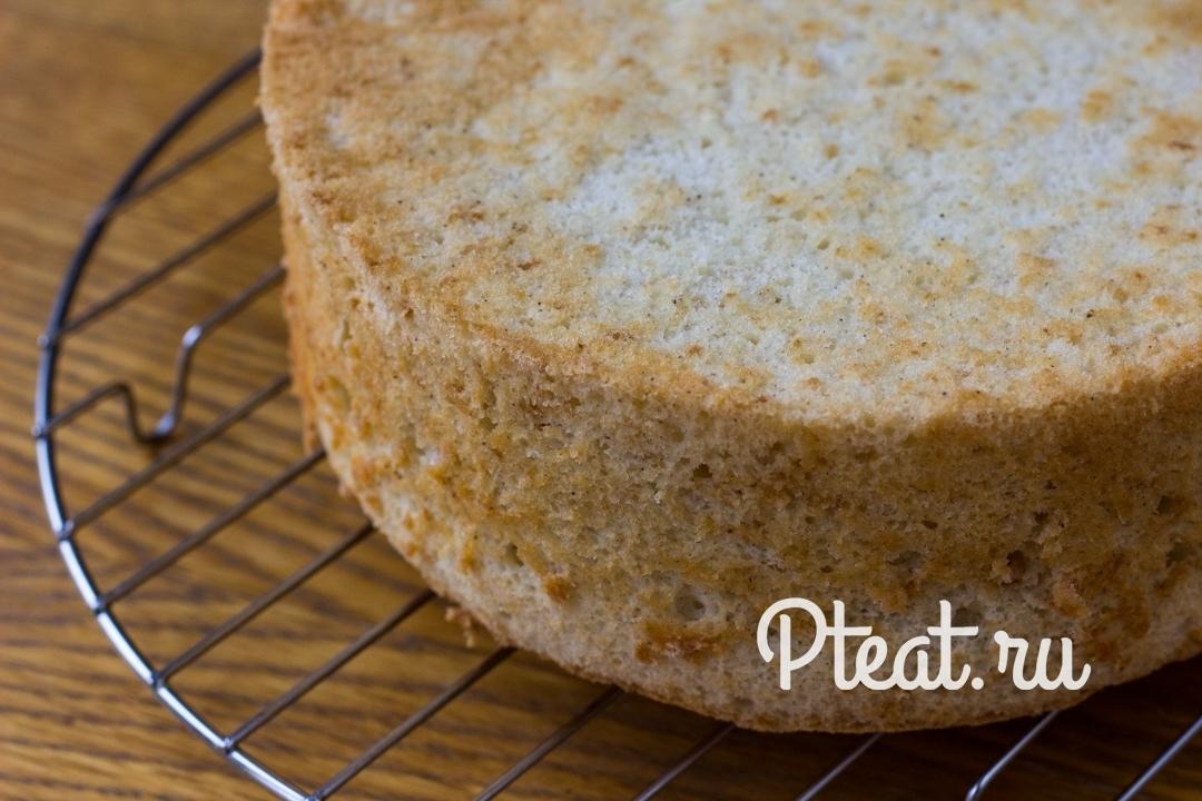 Шифоновый бисквит рецепт с фото пошагово
