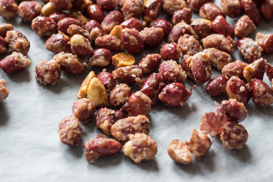 Карамелизованные орехи