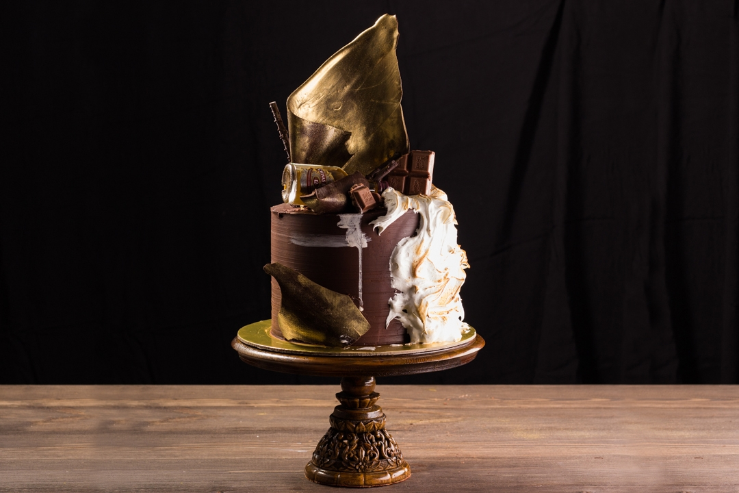 Мужской торт Сникерс