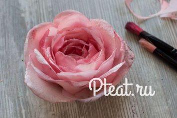Цветы из вафельной бумаги своими руками 798