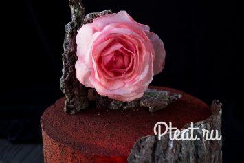Цветы из вафельной бумаги