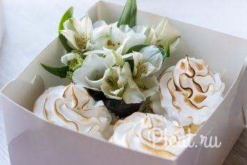 Сладкие коробки с цветами