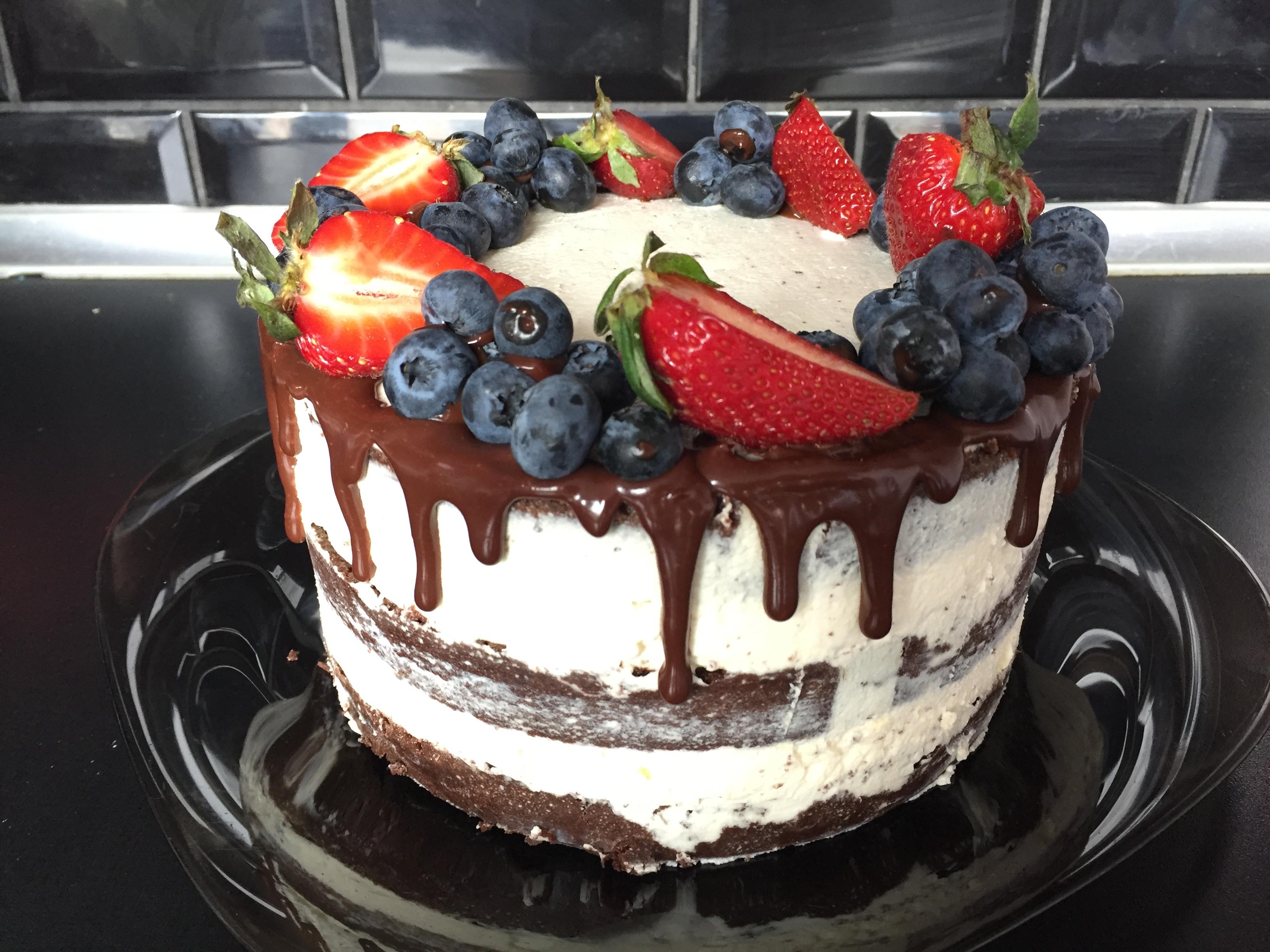 Торт мужу. Что получилось )