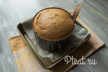 Пышный классический бисквит - рецепт пошаговый с фото