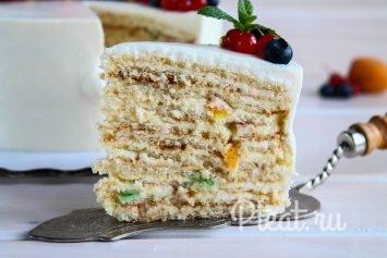 Торт молочная девочка пошаговый рецепт в домашних условиях 31