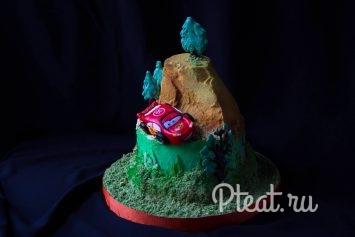Торт для мальчика без мастики