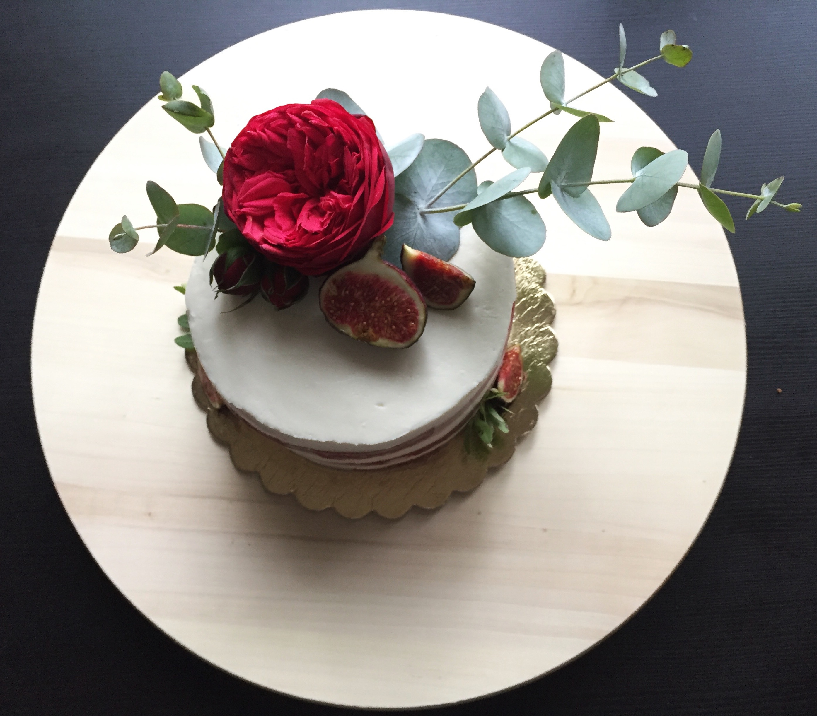 Полуюбилейный торт!)
