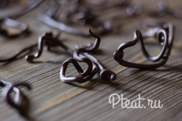 Шоколадный декор