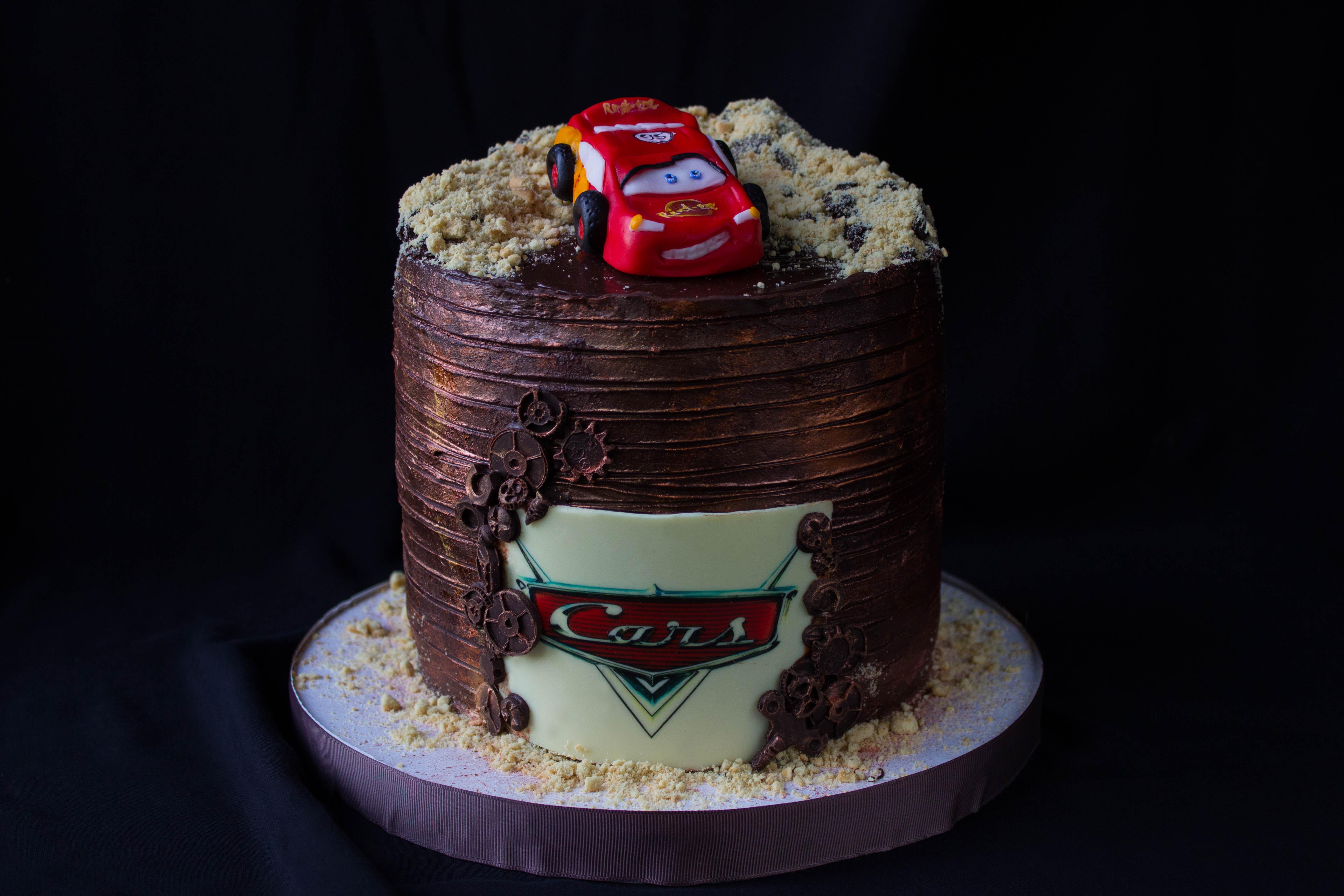Торт Тачки