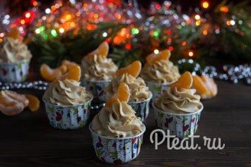 Вкусные кексы с тыквой