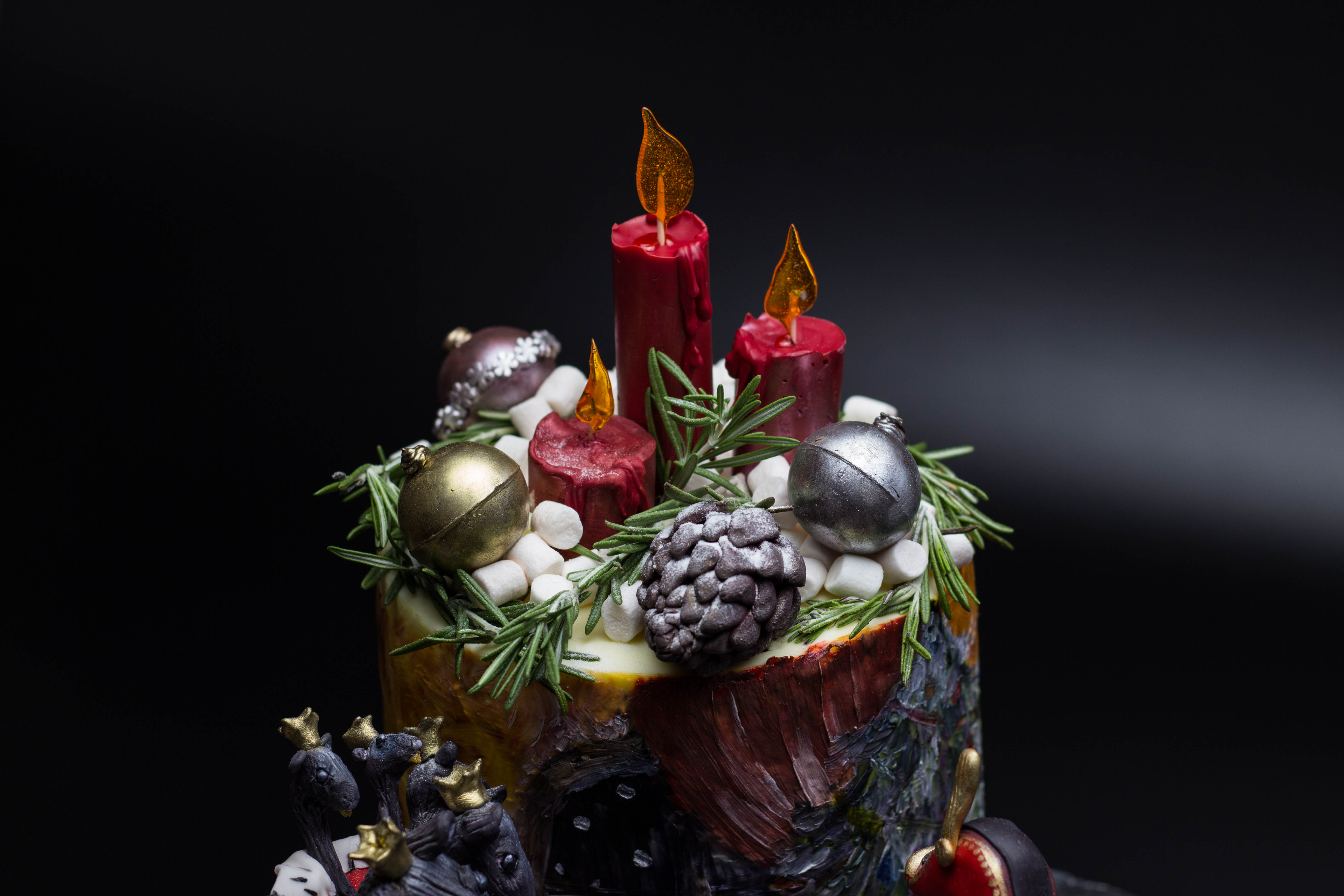 Шоколадные свечи
