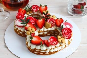 Торт-цифра