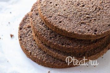 Черёмуховый бисквит