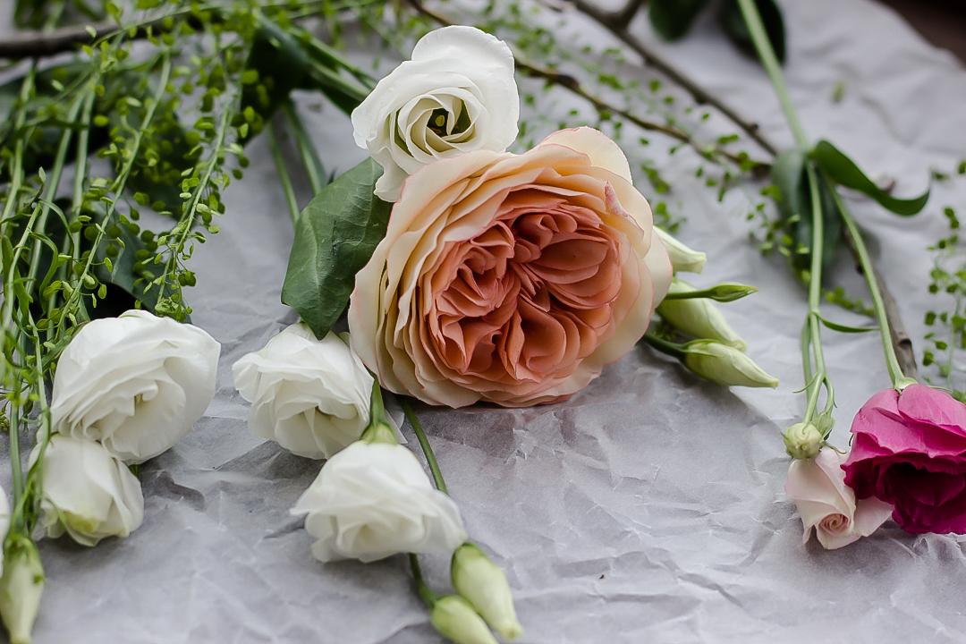 ФОТО МК Шоколадные розы Остина