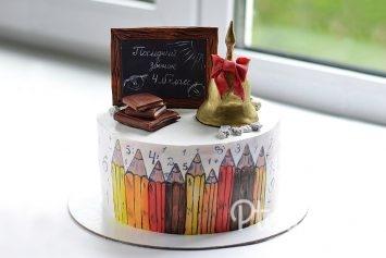 Торт учителю
