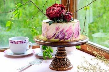 Торт с сырным муссом