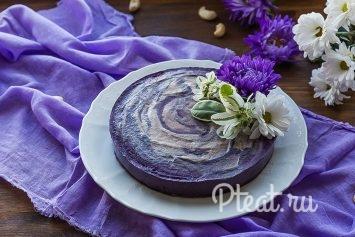 Черничный пп-торт