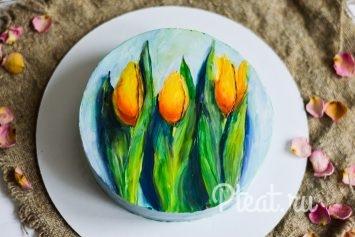 Рисунок на торте