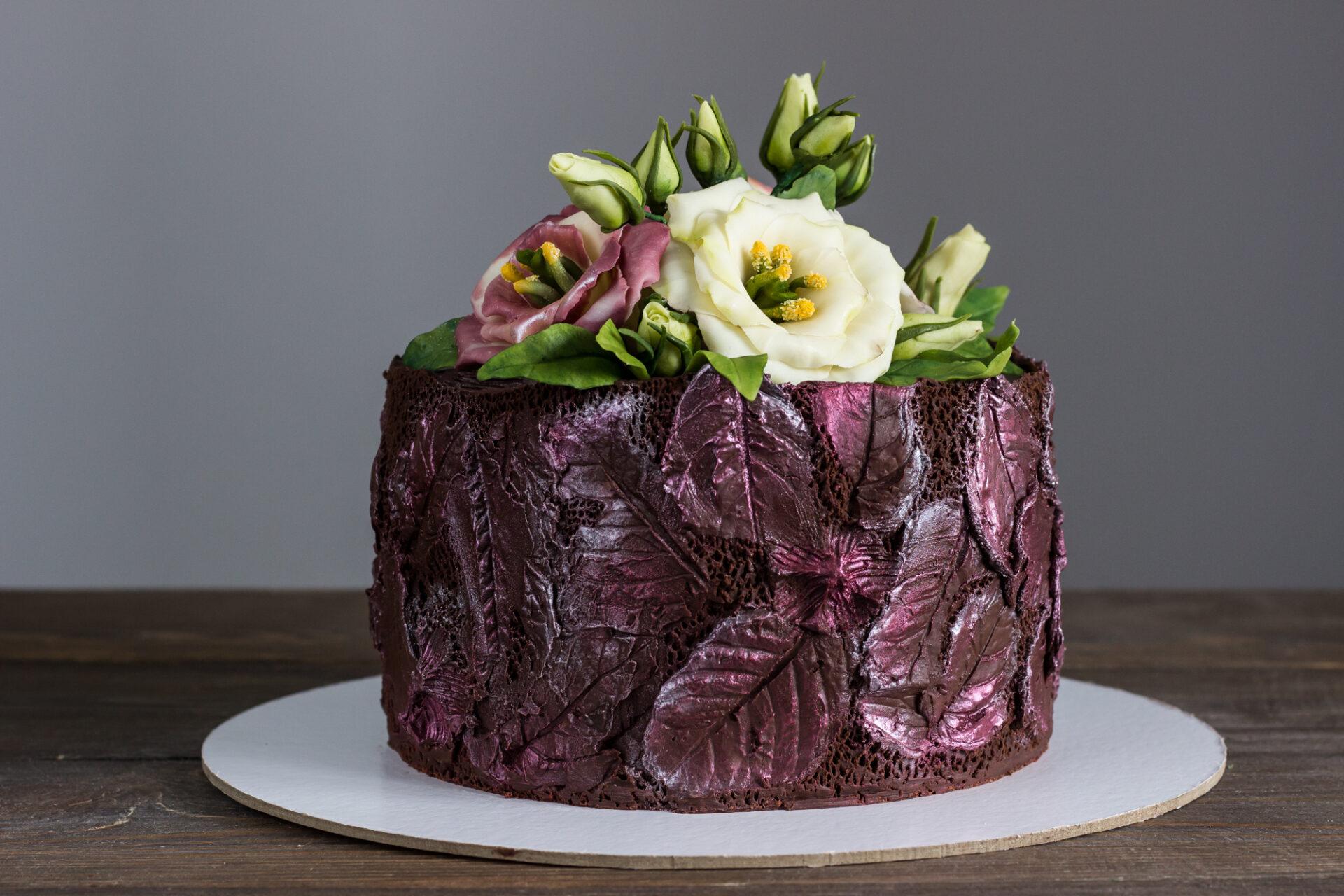 Шоколадная текстура
