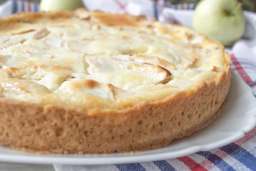 Яблочный пирог пошаговые