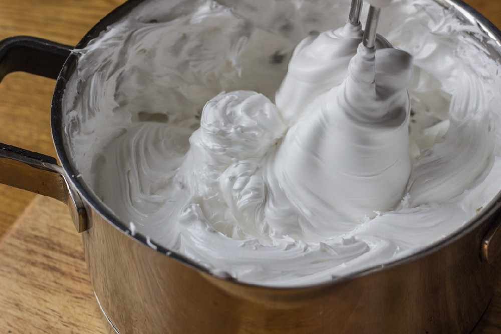 Крема и безе для домашних условиях