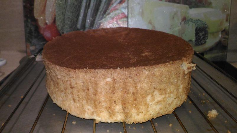 Шифоновый ванильный бисквит рецепт с фото пошагово